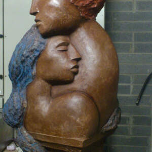 Entwined  – Chocolate sculpture