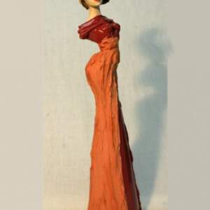 Vintage Diva in dark pink>Vintage pink Diva, 36cm
