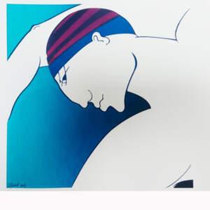 Limited edition Screen prints>Fastnet Race, 30 x 30cm, ed.5, €150