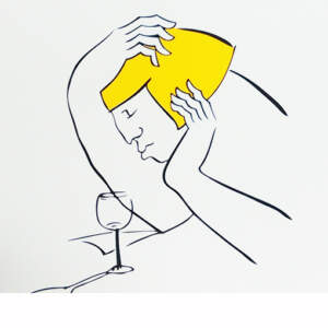 Limited edition Screen prints>Lost in thought