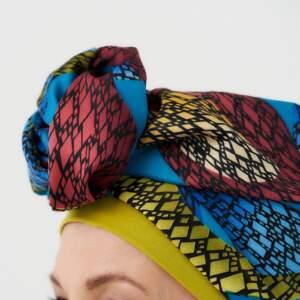 Indian summer – turban + cap