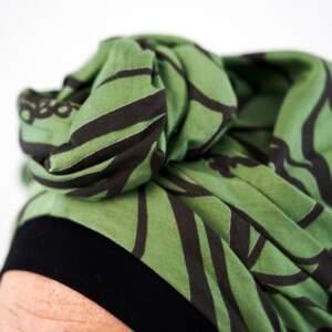 Jade – turban + bamboo cap