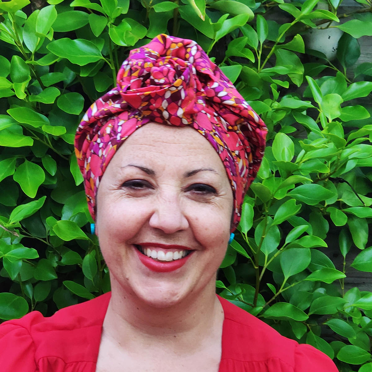 Angelique turban with inner cap – Summer collection