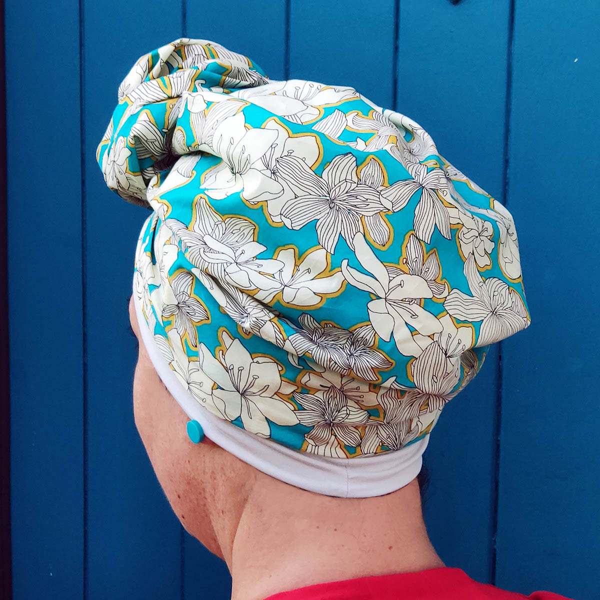 Lola turban with inner cap – Summer collection