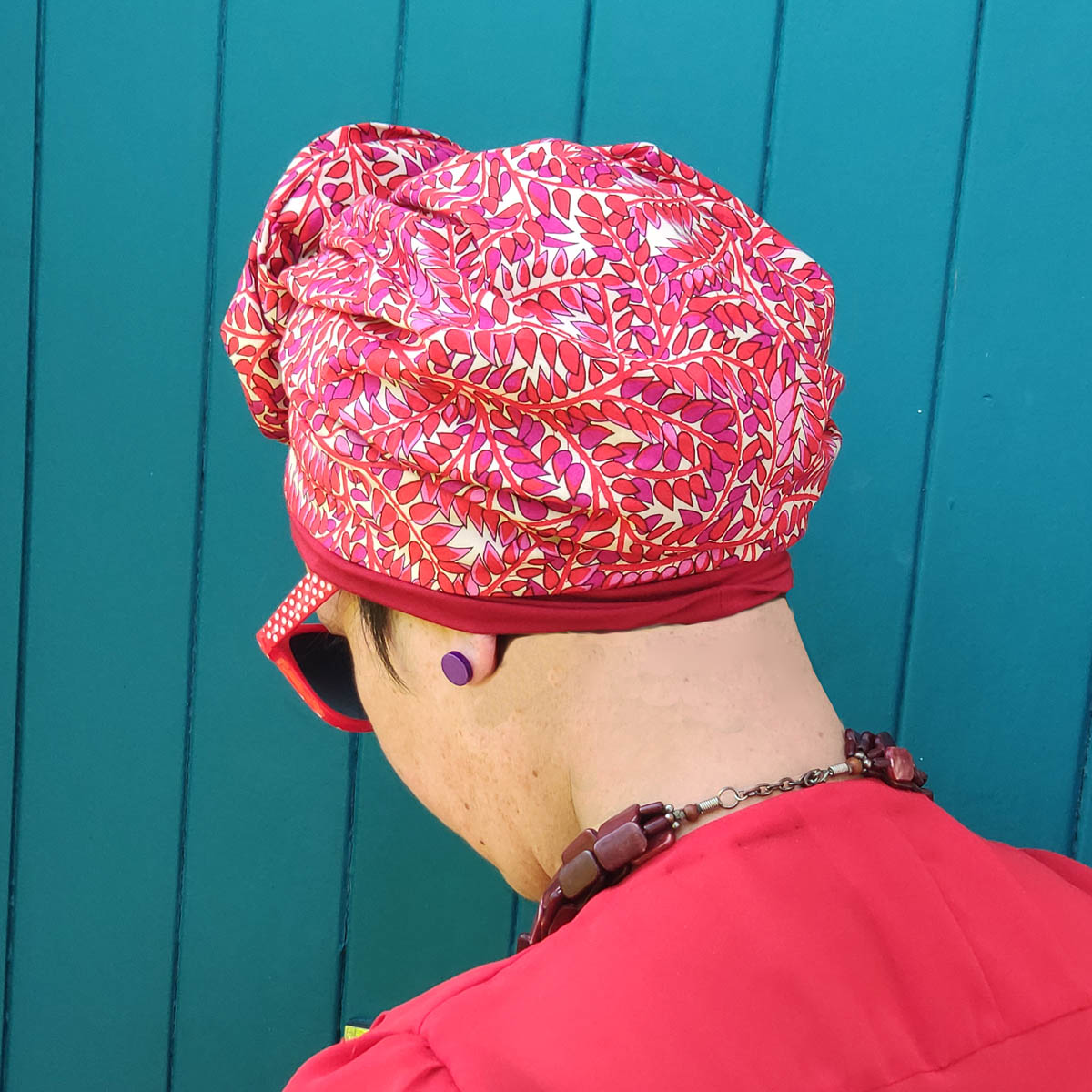 Vivian turban with inner cap – Summer collection